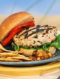Mar-alago turkey burger